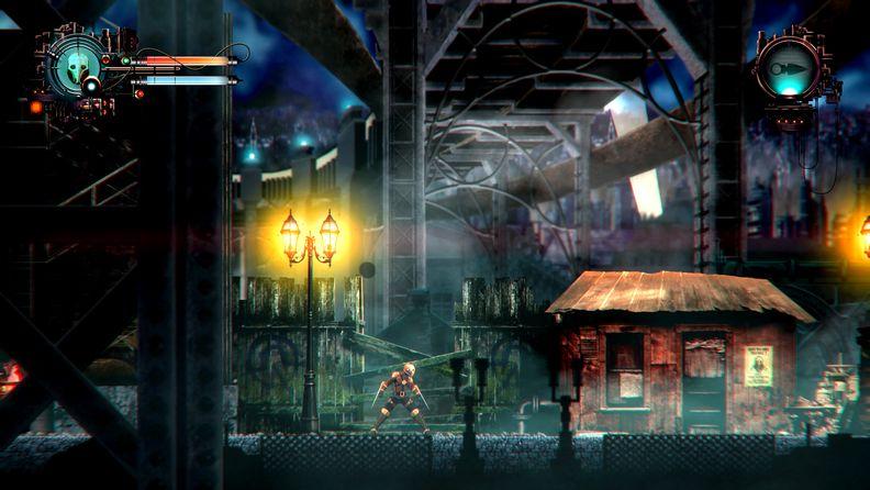 类恶魔城游戏《蒸汽人偶:混沌秩序》开启众筹