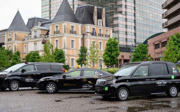Uber在东京启动网约车服务