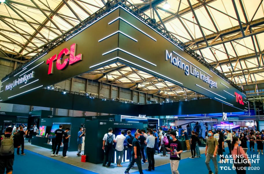TCL智显亮相UDE2020 六大商业应用场景助力B端市场