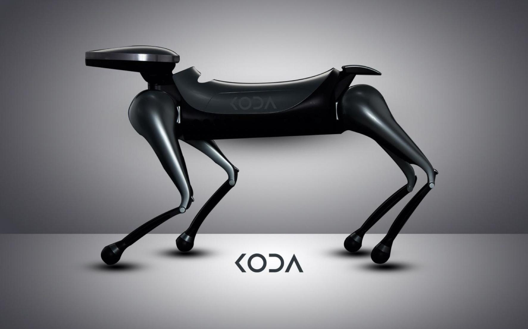 KODA:世界首款未来概念社交型机器狗问世