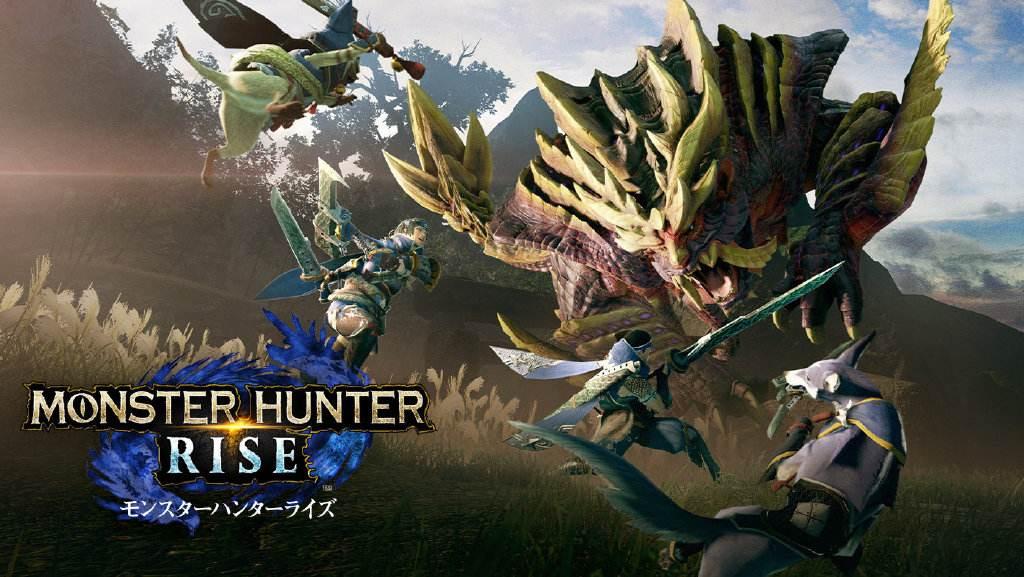 《怪物猎人:崛起》新物种设定图及草图公开