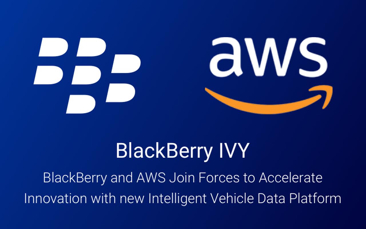 BlackBerry 携手 AWS 运用新型智能车辆数据平台加速创新