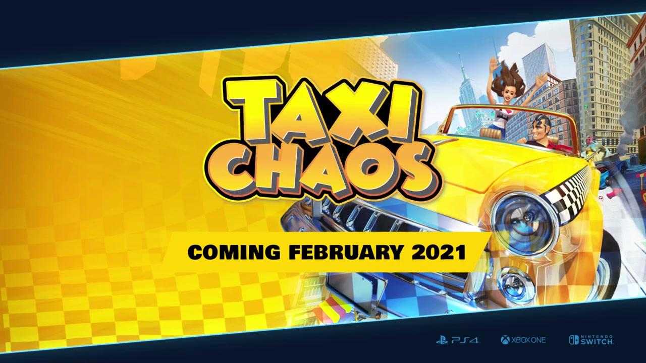 世嘉精神续作《混乱出租车》将于明年2月上线