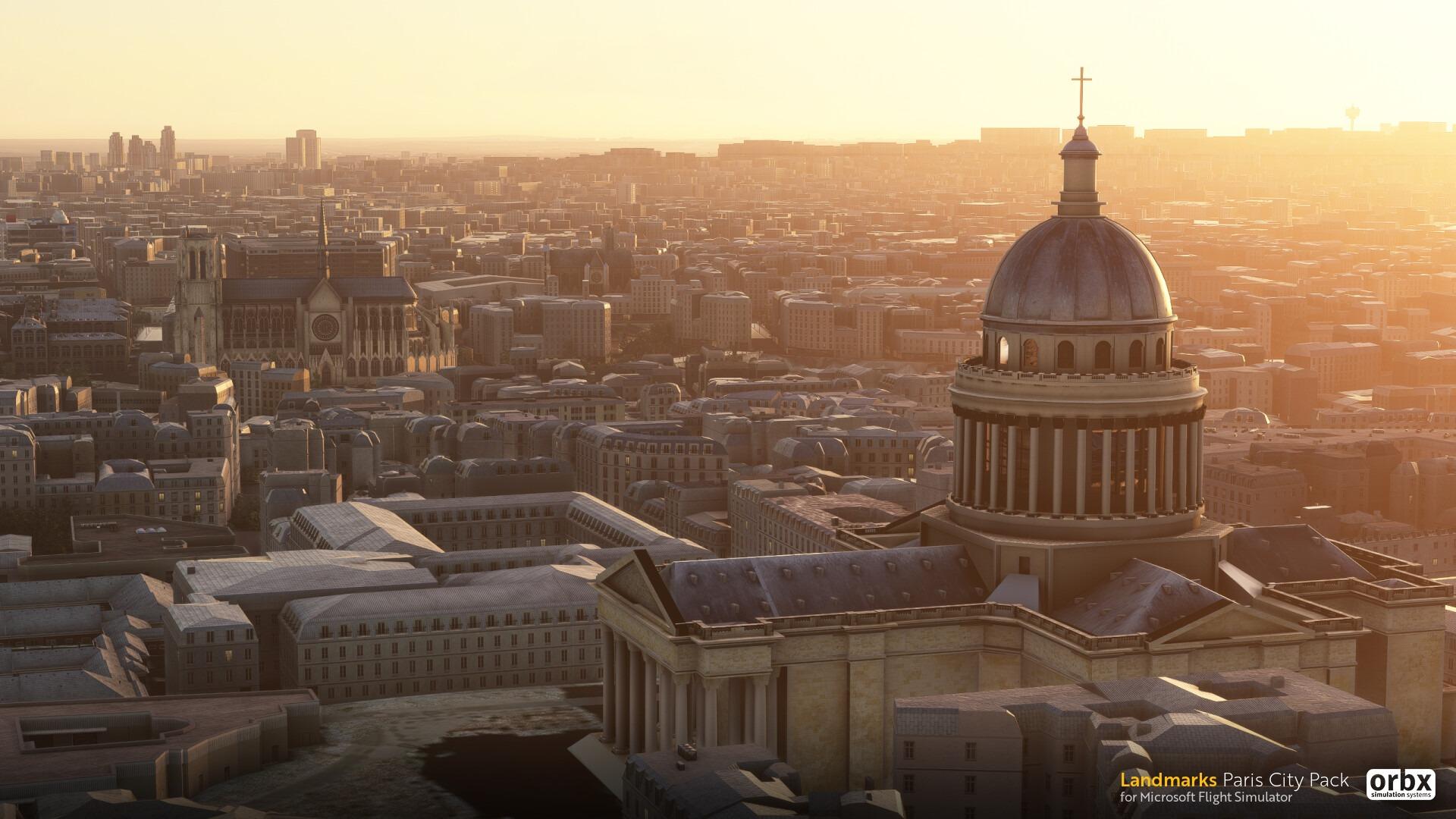《微软飞行模拟》为巴黎地区开发新插件包