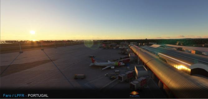 《微软飞行模拟》新图 展示伊比利亚半岛法鲁机场