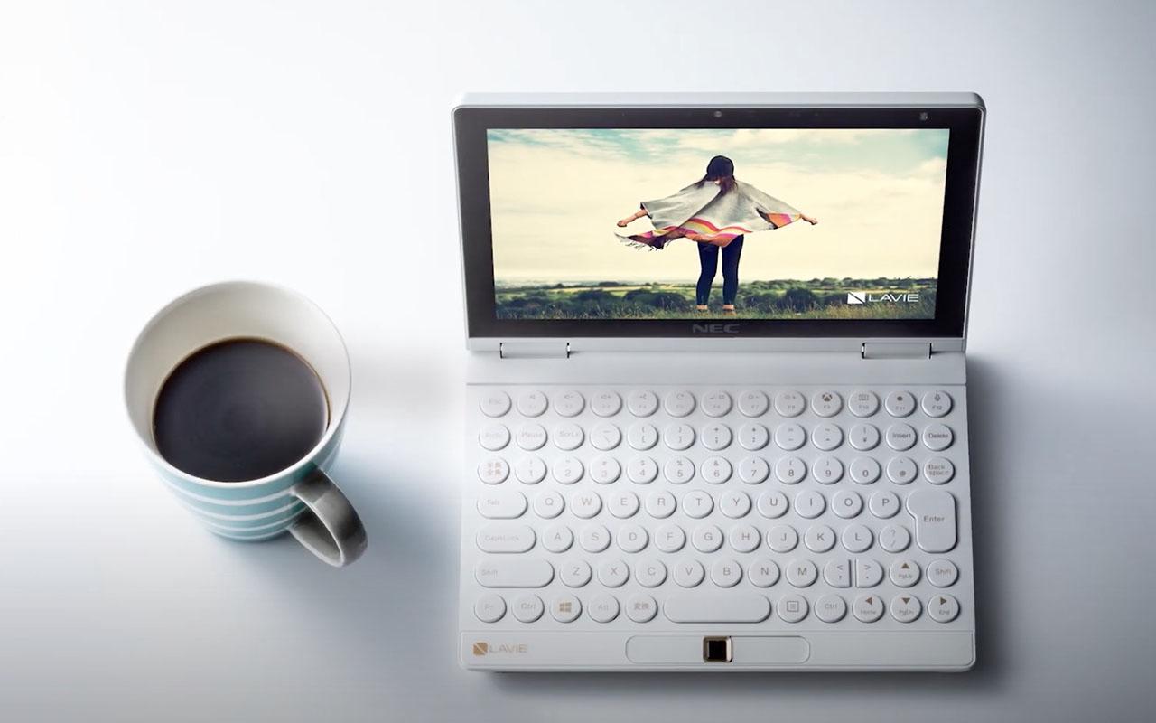 联想公布 NEC Lavie Mini:插上手柄就能变游戏机的迷你电脑概念机