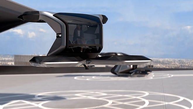 通用发布飞行汽车概念车型 具备完全自动驾驶功能