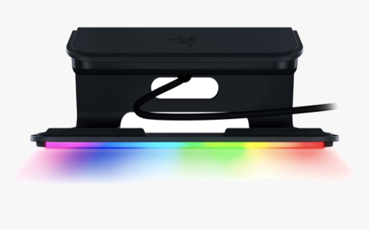 雷蛇发布首款雷电 4 扩展坞及笔记本支架幻彩版 V2