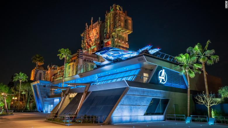 """""""复仇者联盟园区""""将于6月份在加州迪士尼乐园开放"""