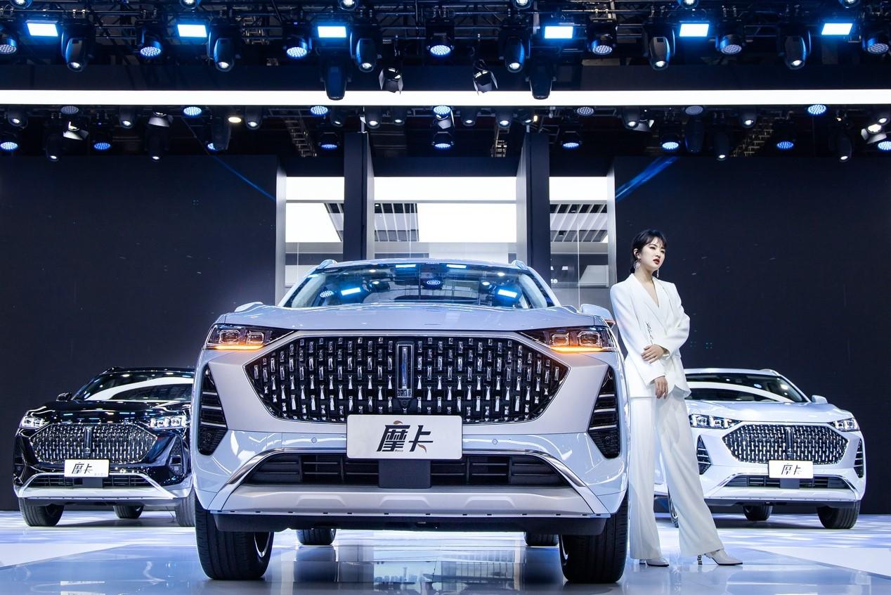 预售17.98万起,WEY摩卡激光雷达版于上海车展发布