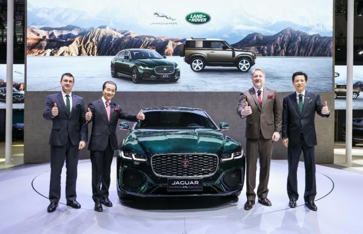 捷豹路虎携多款重磅车型亮相2021上海车展