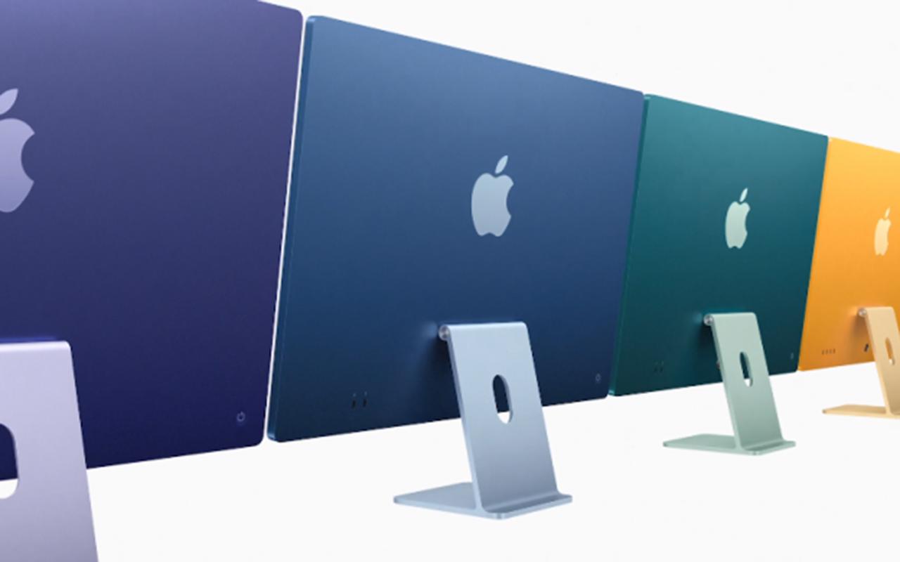 除了 M1 芯片,新款 iMac 还带来多种配色