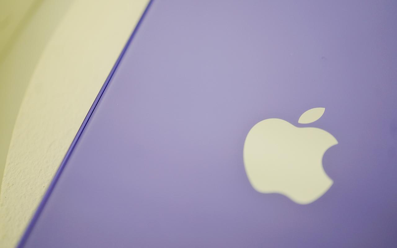 充满春天气息的香芋冰淇淋,紫色 iPhone 12 图赏