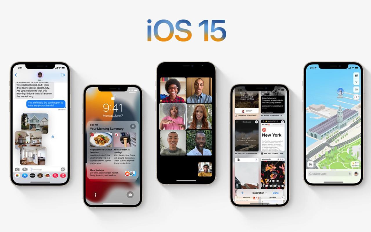 WWDC21:苹果发布 iOS 15,FaceTime、信息应用升级