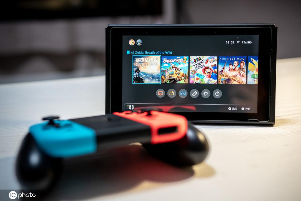 任天堂 Switch 国行版腾讯视频更新,新增搜索和观看历史功能
