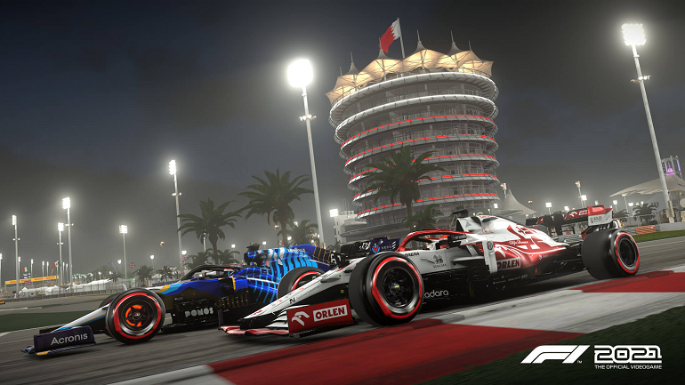 《F1 2021》官方截图公开 游戏将于7月16日发售