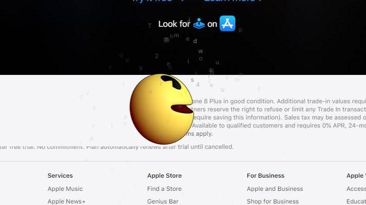 Apple Arcade主题宣传登陆苹果公司官网