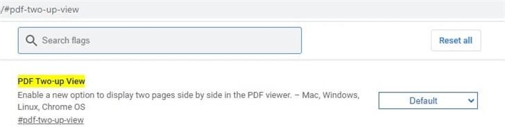 """谷歌Chrome瀏覽器將支持""""PDF同屏雙頁視圖"""""""