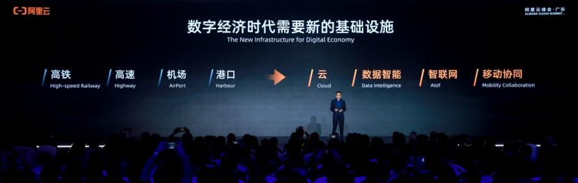 阿里云总裁张建锋:全力投入数字经济新基建