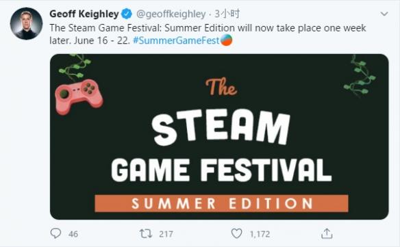 Steam夏日游戏节公布延期 具体延期原因未知