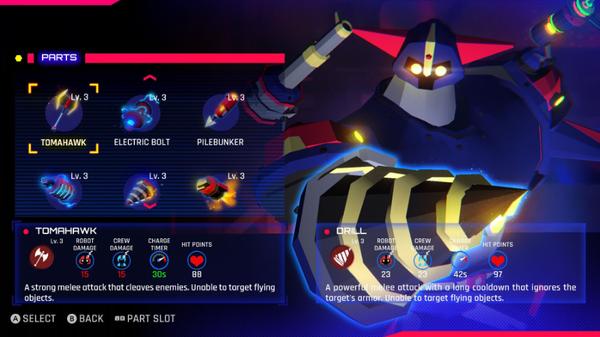 巨型机器人PVP策略游戏《Volta-X》将登陆Switch