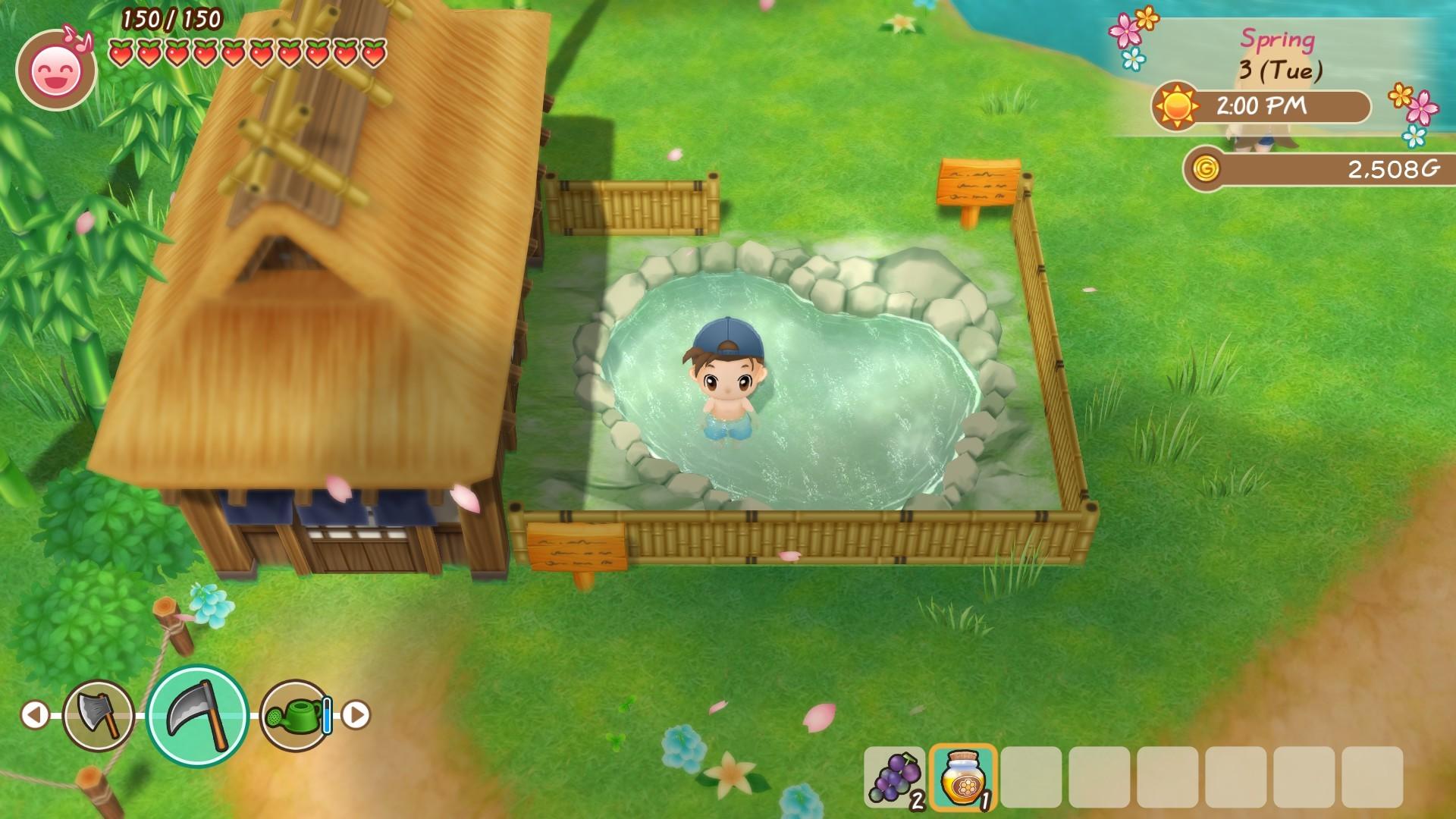 《牧场物语:重聚矿石镇》在Steam平台开启预售