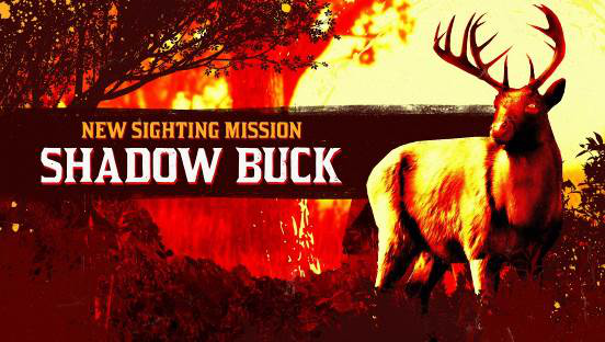 《荒野大镖客OL》新目击任务——暗影公鹿上线