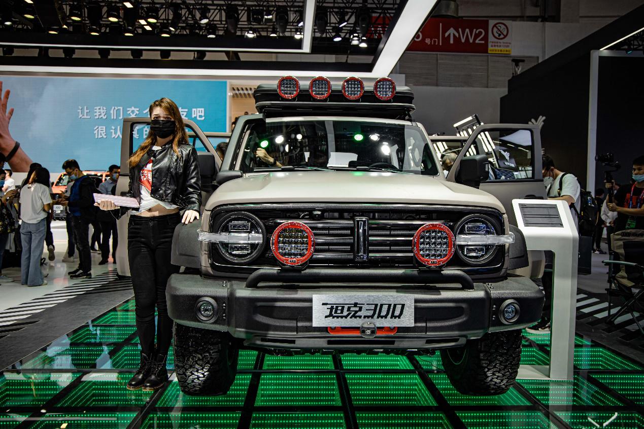 WEY用户体系首秀北京车展 坦克300将招募千人共创官