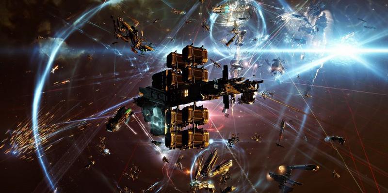 《EVE Online》战争新史诗 8千多玩家大战14小时