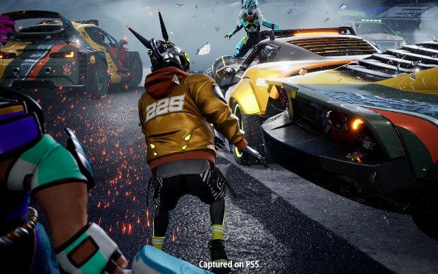 PS5游戏辅助《毁灭赛车 全明星》中文版11月12日发售