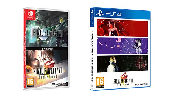 Switch《FF9》与PS4《FF8》实体版将于今年冬季推出