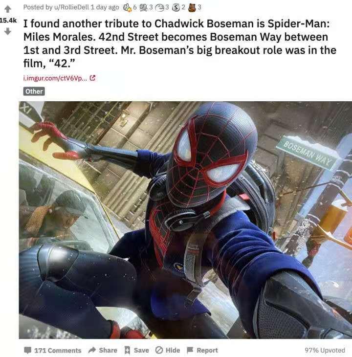 《漫威蜘蛛侠:迈尔斯莫拉里斯》全新彩蛋公开